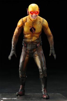 Kotobukiya présente leur statuette de Reverse-Flash version CW 15
