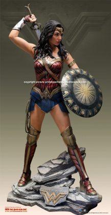 Studio Oxmox présente leur statue taille réelle de Wonder Woman 2