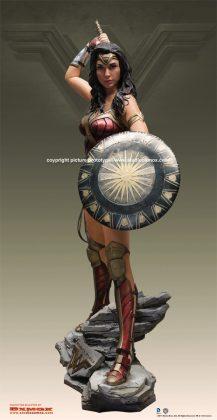 Studio Oxmox présente leur statue taille réelle de Wonder Woman 3