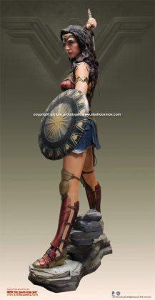 Studio Oxmox présente leur statue taille réelle de Wonder Woman 4