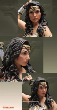 Studio Oxmox présente leur statue taille réelle de Wonder Woman 5