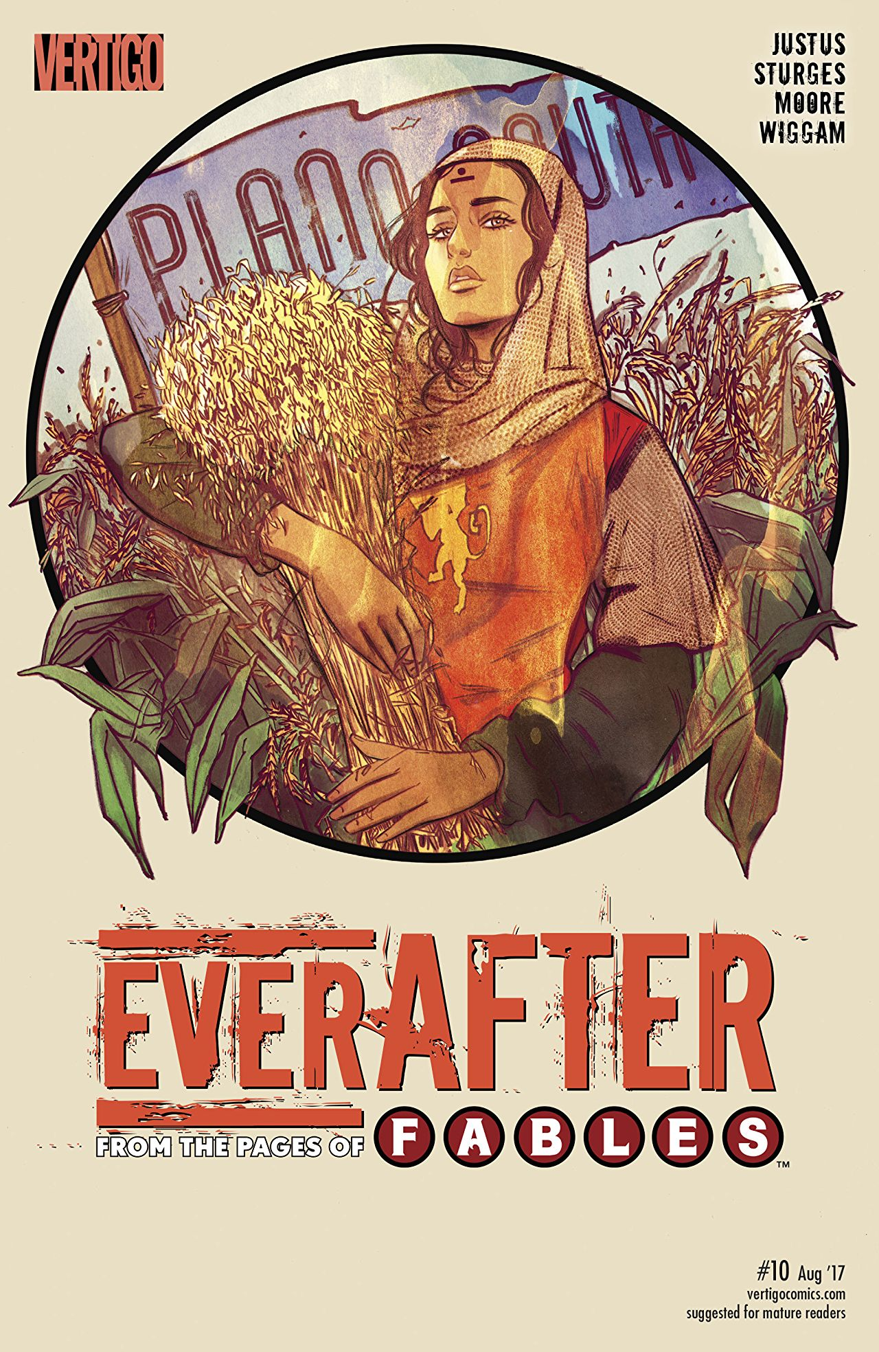 review EVERAFTER : FROM THE PAGES OF FABLES #10