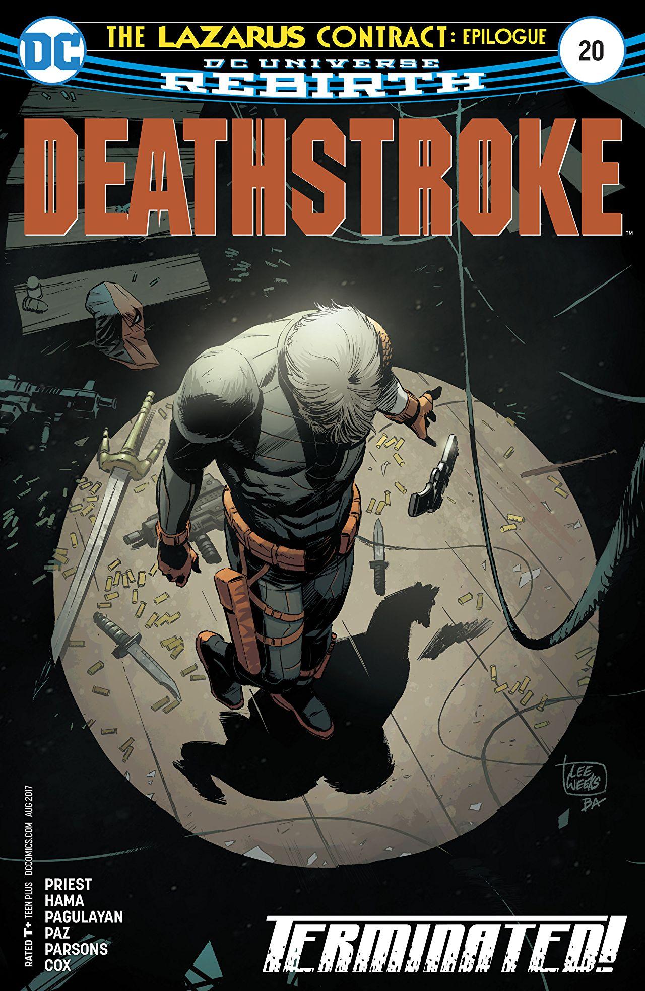 review DEATHSTROKE #20