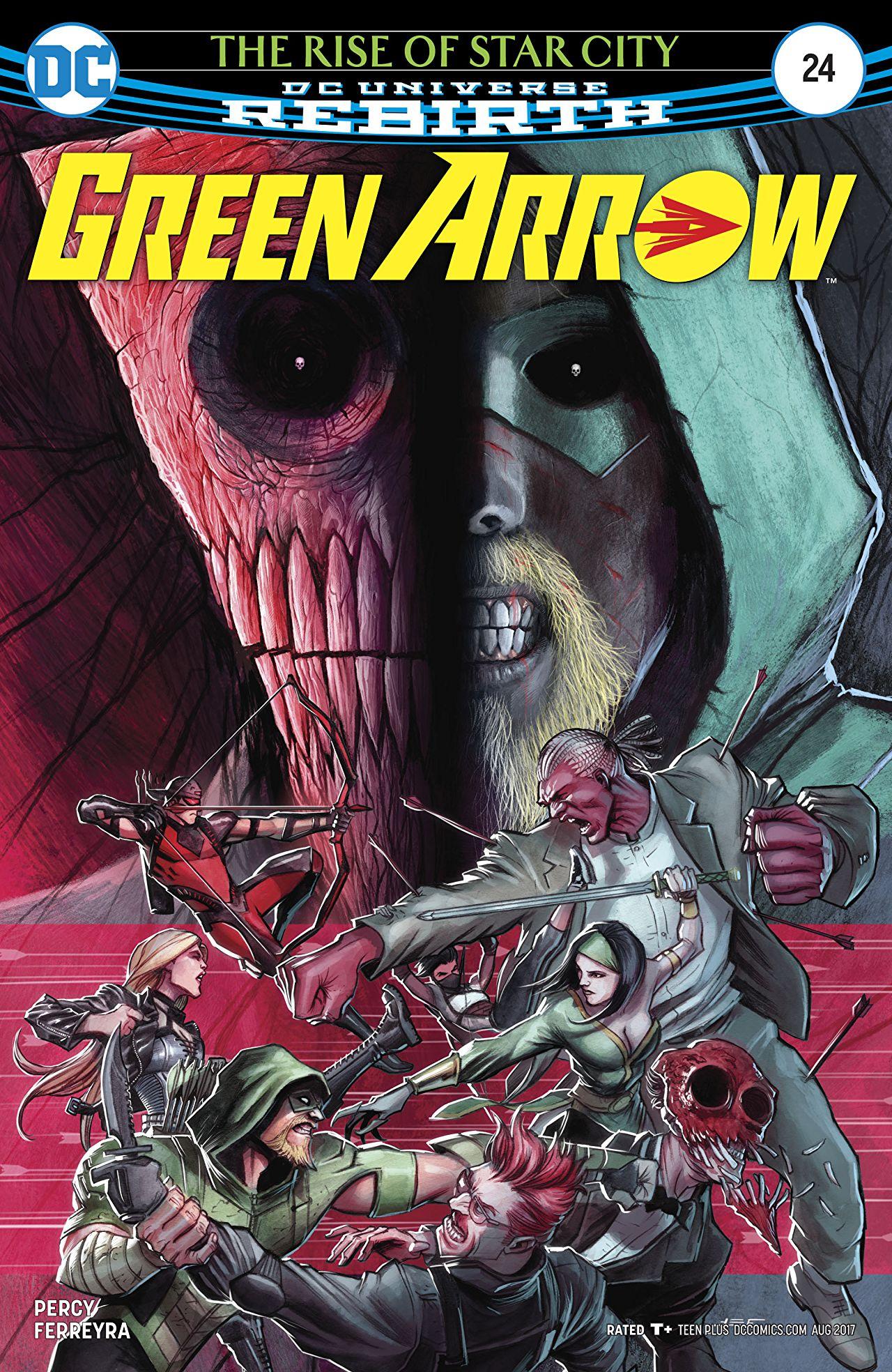 review GREEN ARROW #24