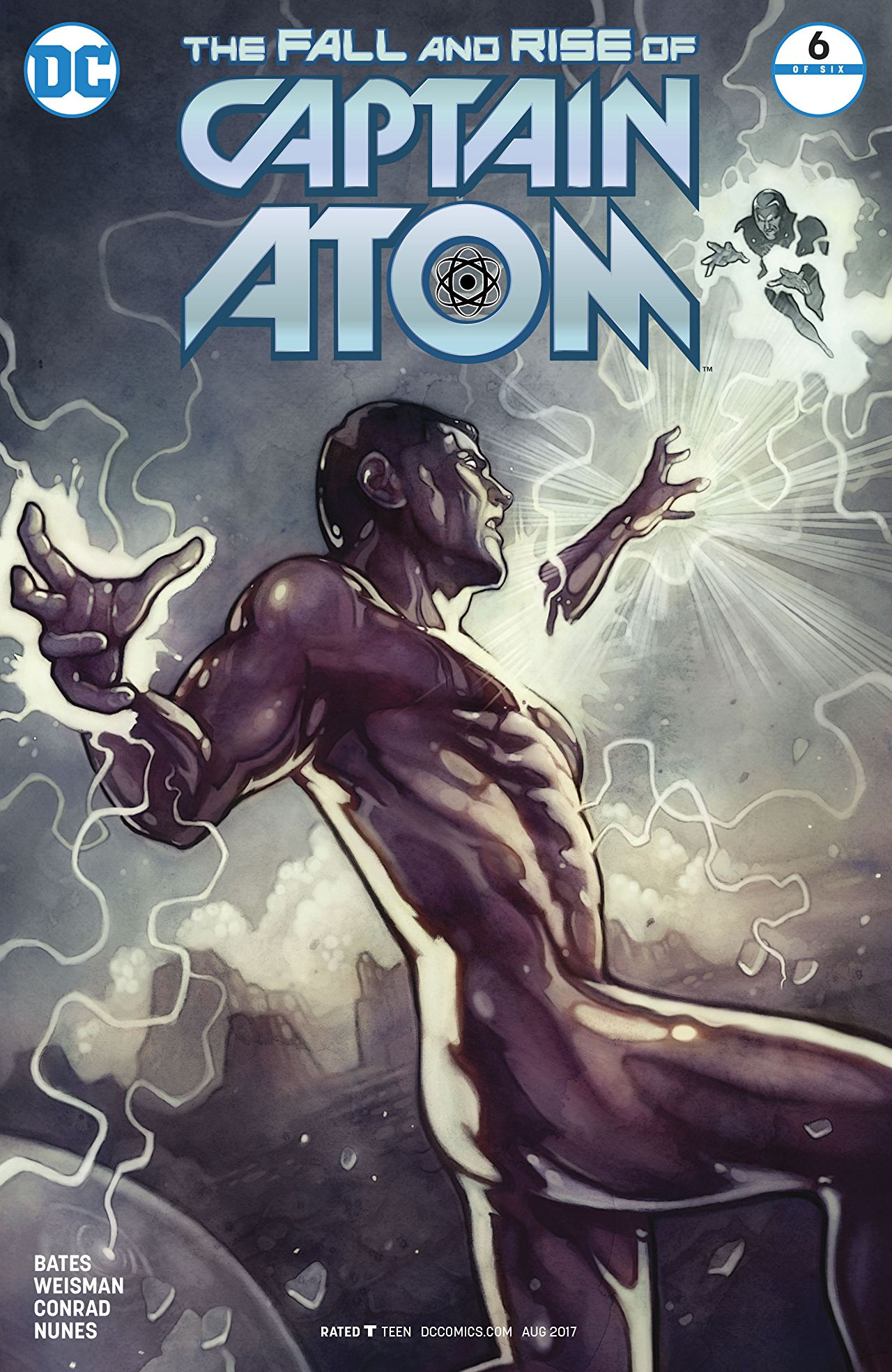review THE FALL AND RISE OF CAPTAIN ATOM #6