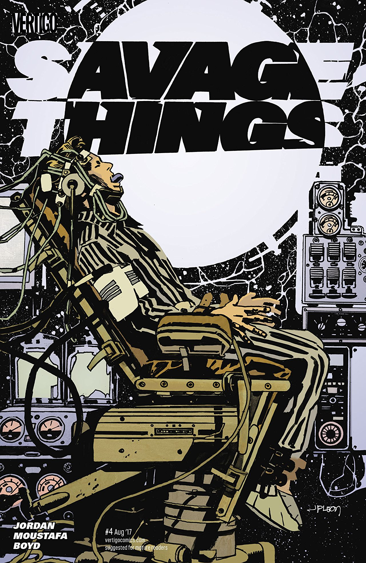 review SAVAGE THINGS #4