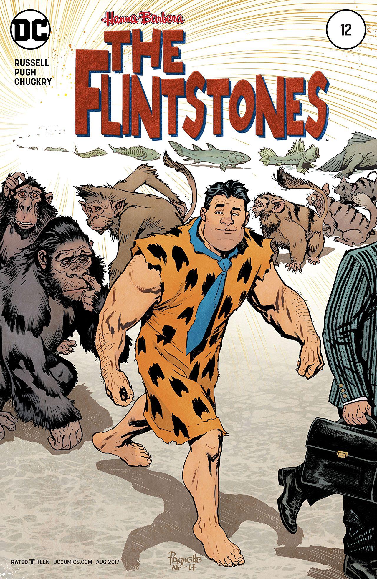 review THEFLINTSTONES #12