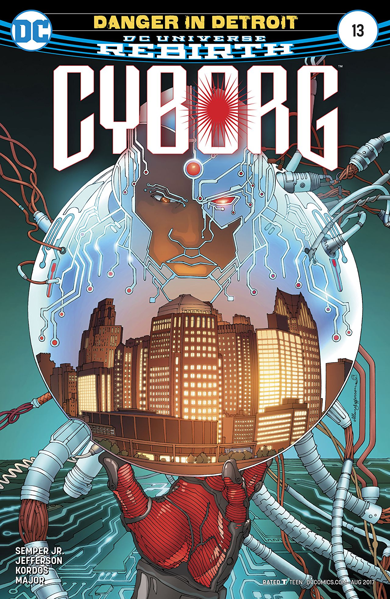 review CYBORG #13