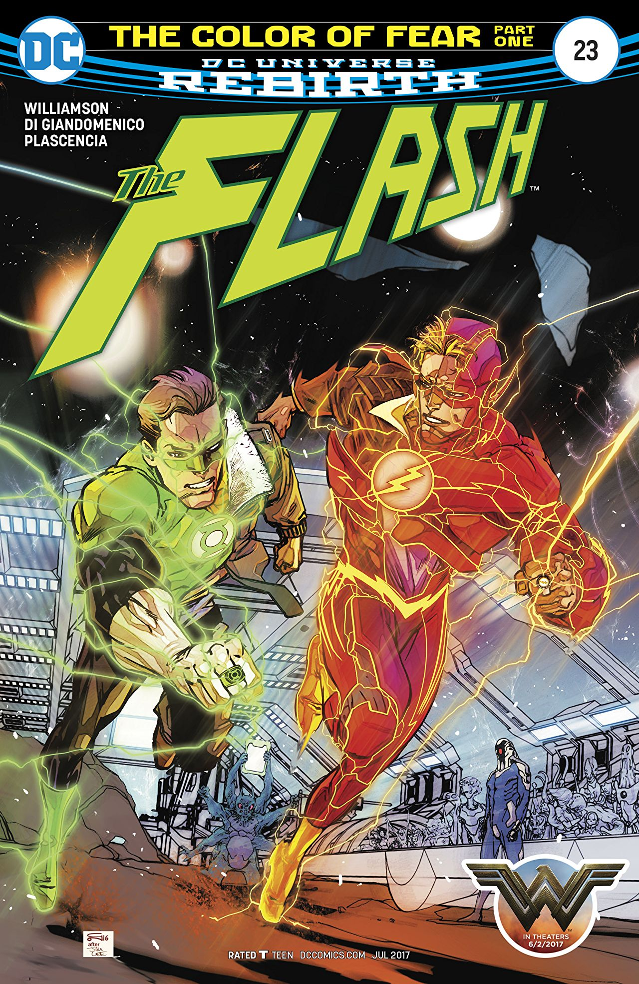 review THE FLASH #23