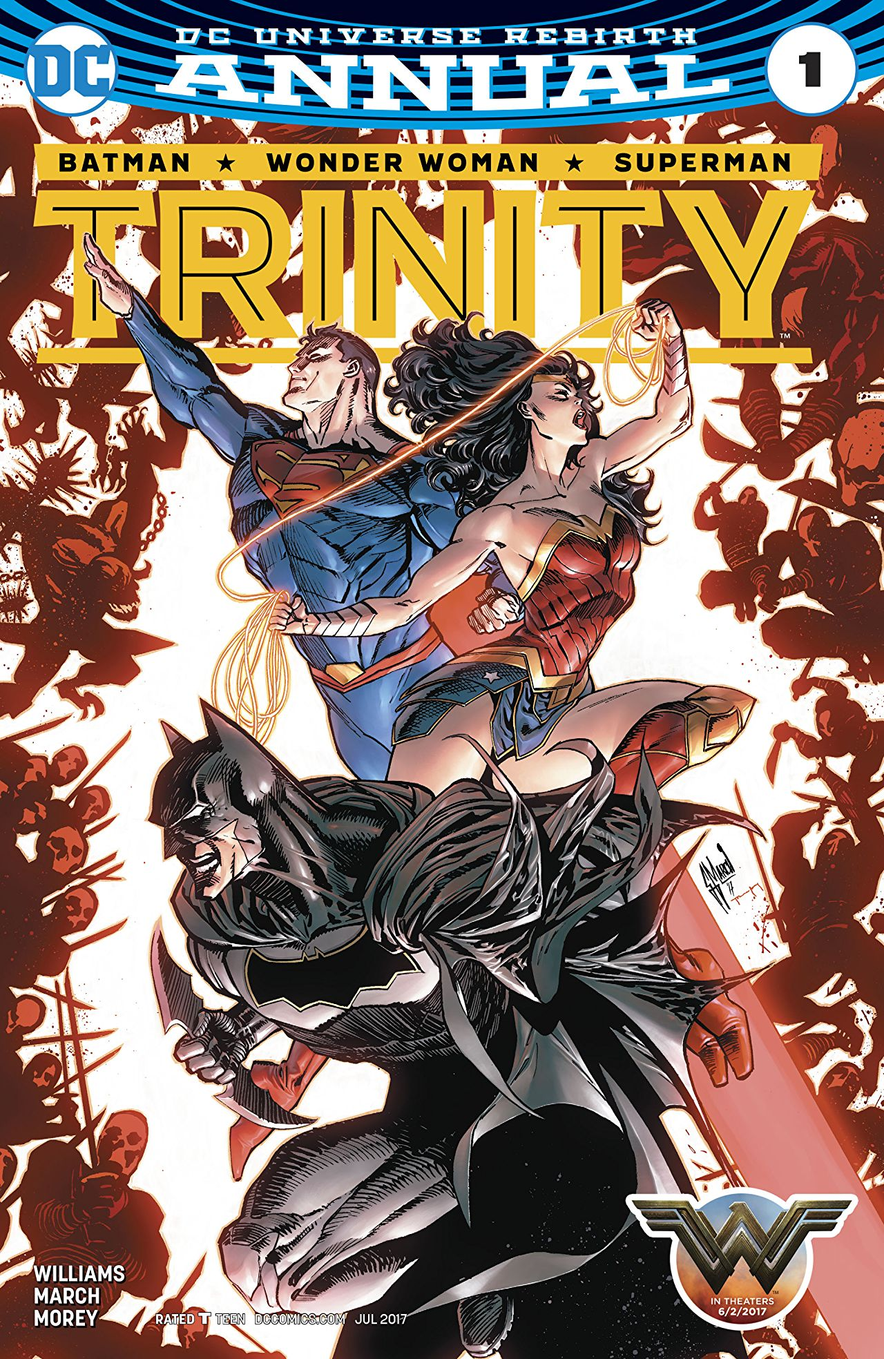 review TRINITY ANNUAL #1