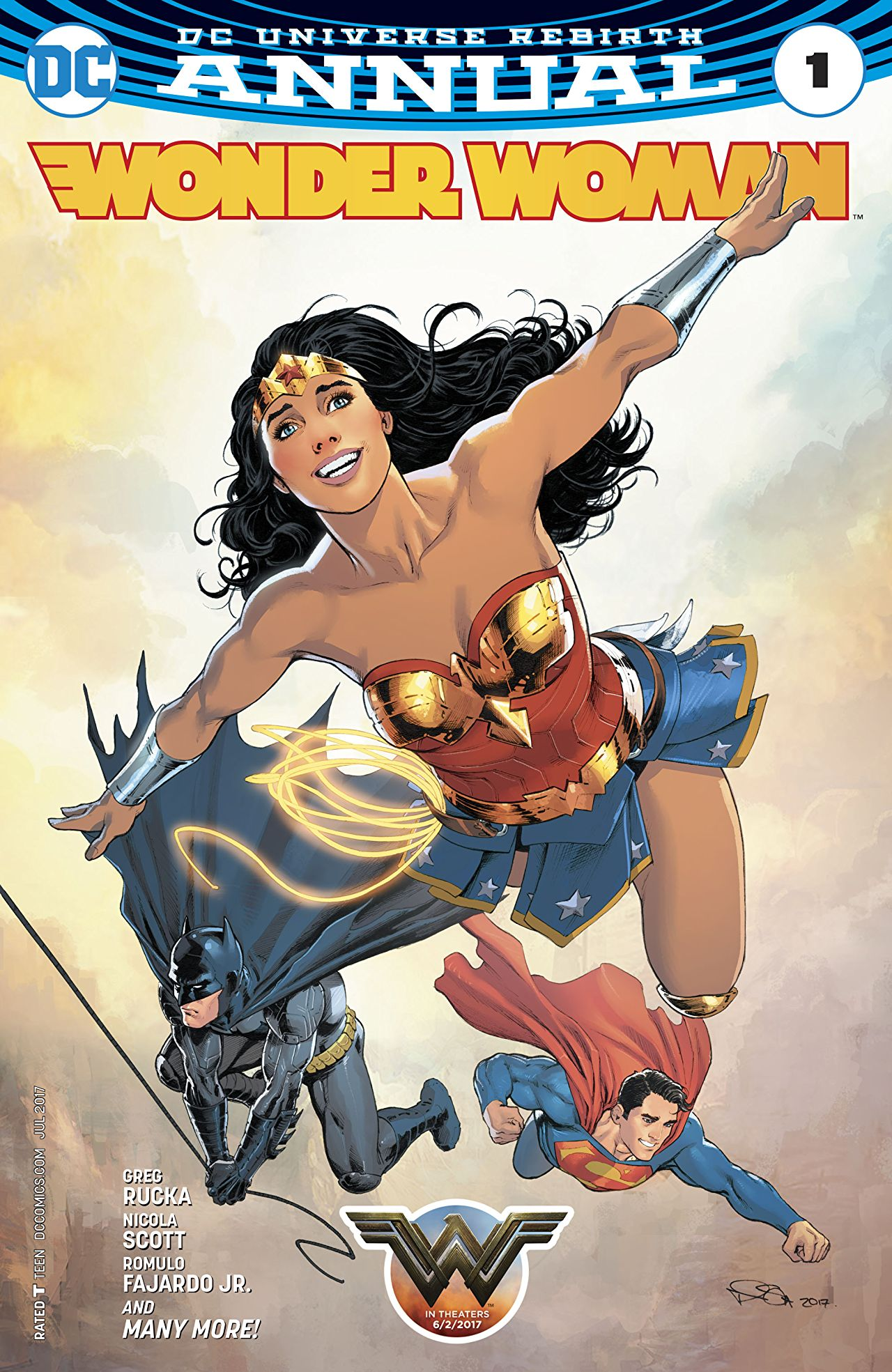 review WONDER WOMAN ANNUAL #1