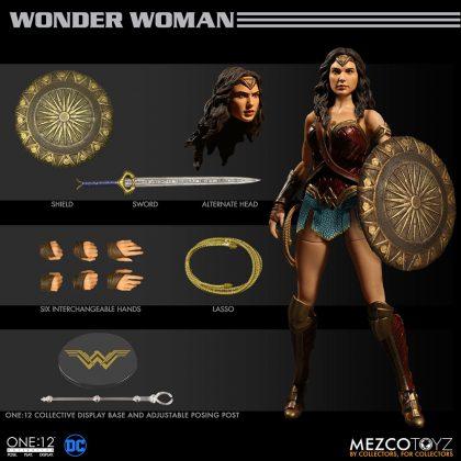 Mezco dévoile leur statuette de Wonder Woman 8
