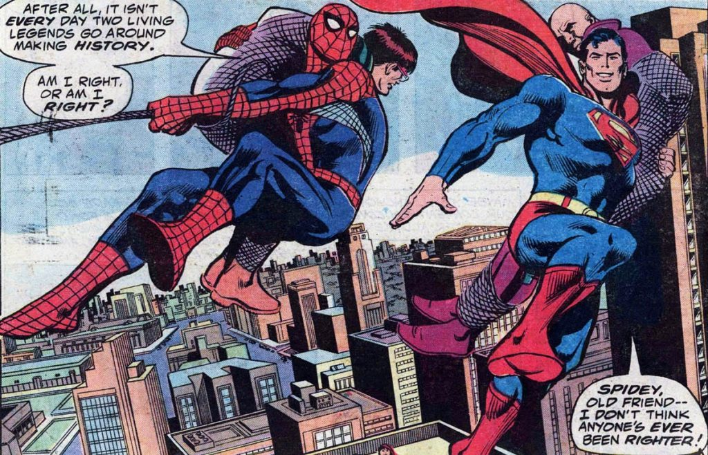 C for Crossover #4 : Superman vs The Amazing Spider-Man (1976) 16