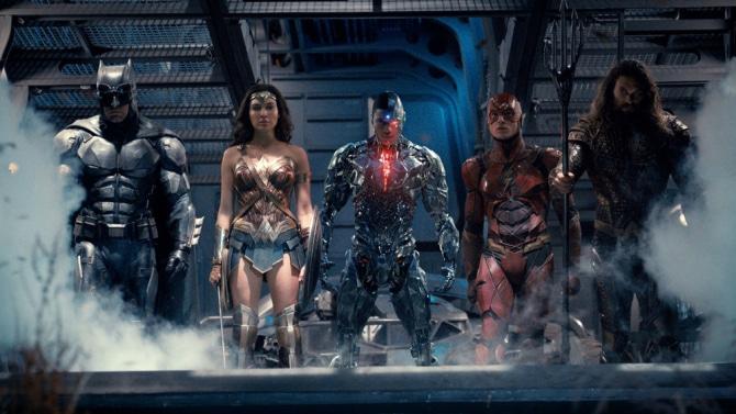 La moustache de Superman sera retirée numériquement — Justice League