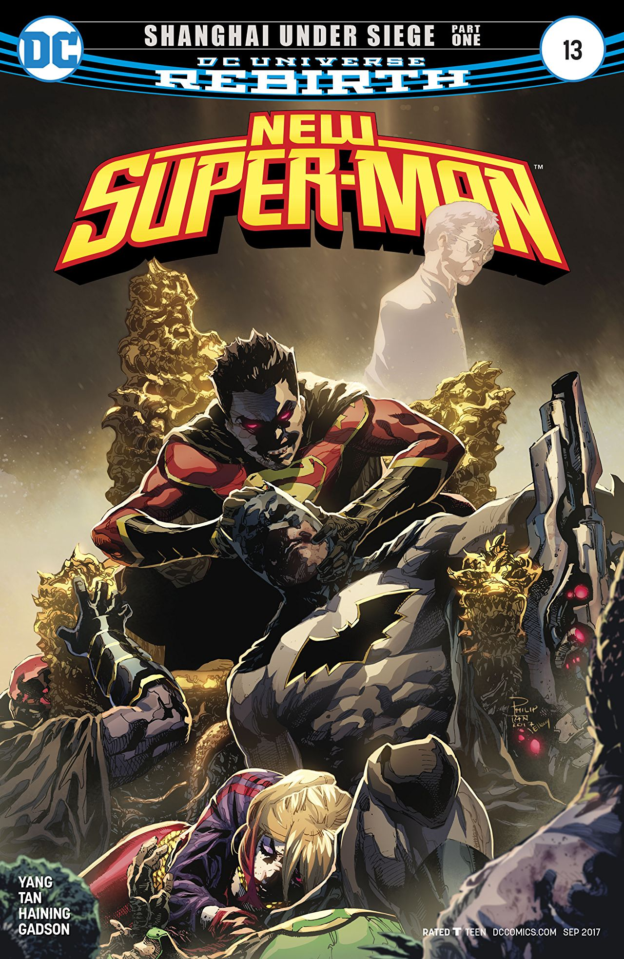 review NEW SUPER-MAN #13