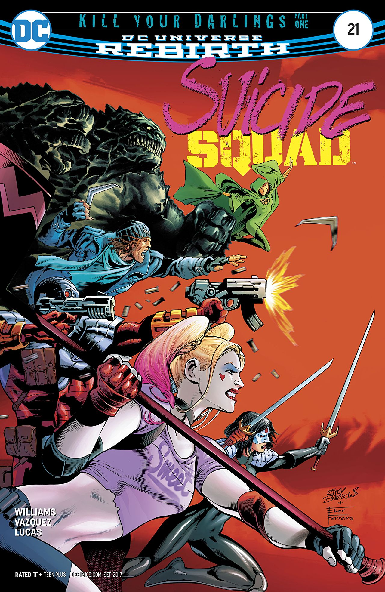 review SUICIDE SQUAD #21