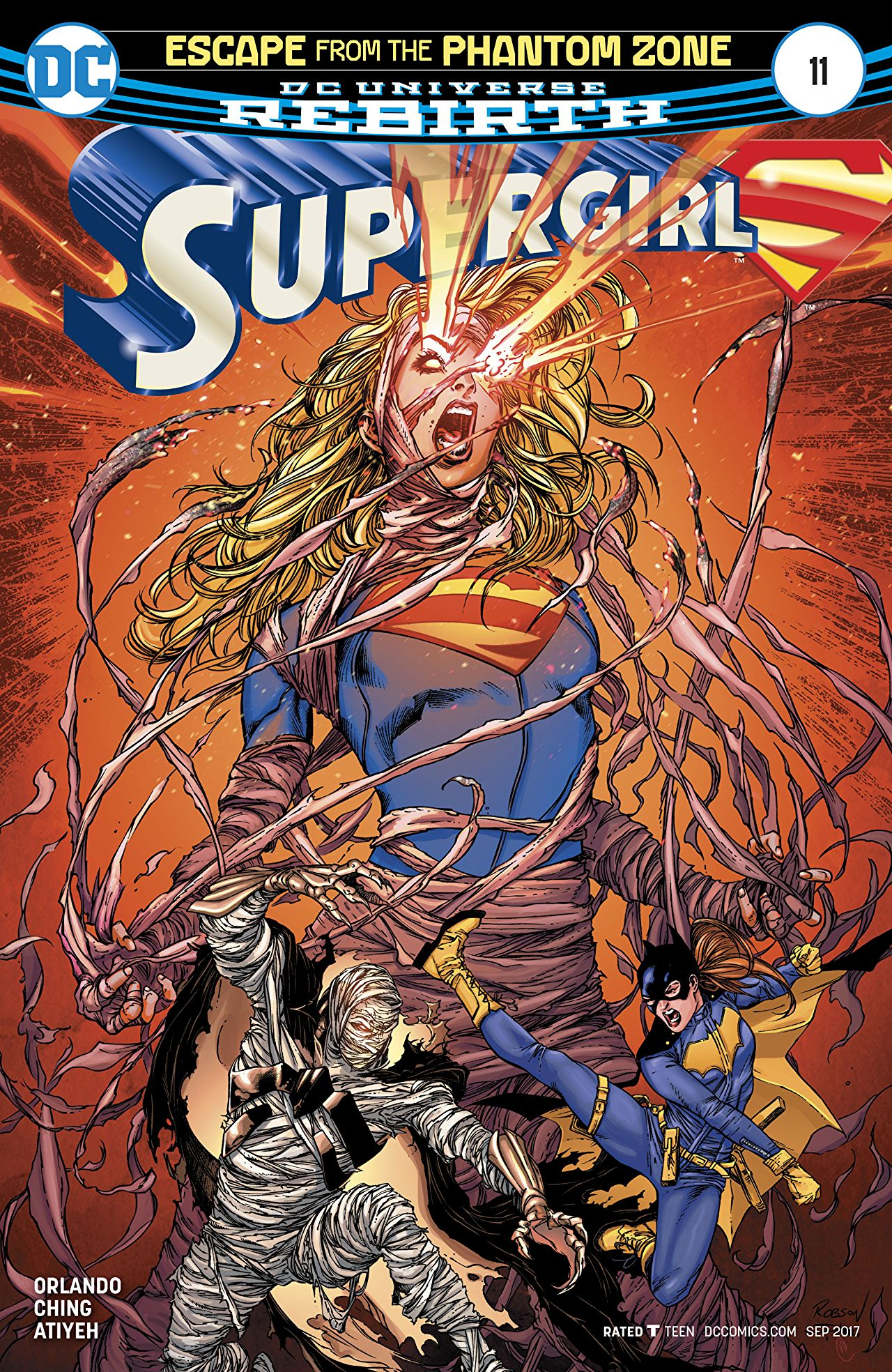 review SUPERGIRL #11