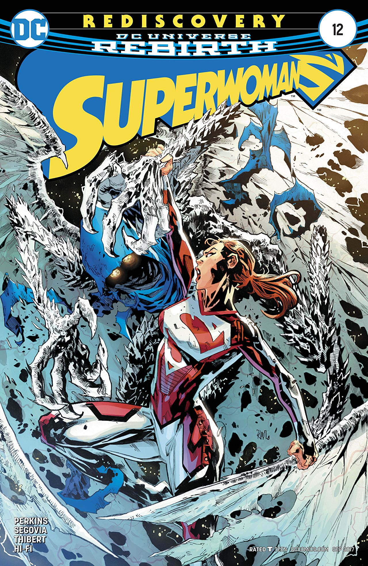 review SUPERWOMAN #12