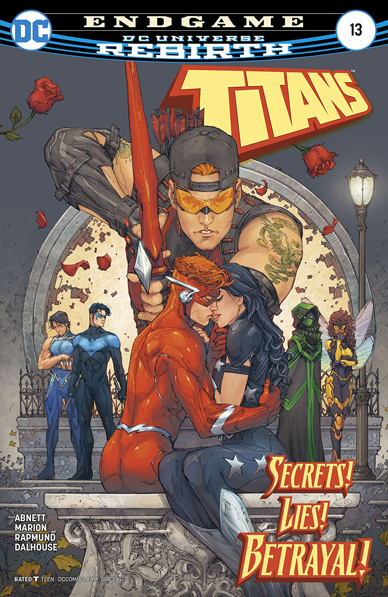 review TITANS #13