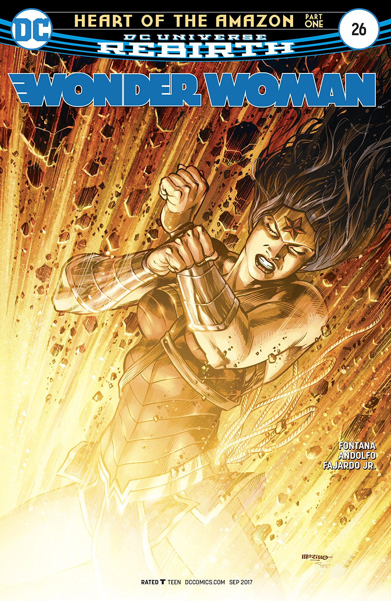 review WONDER WOMAN #26