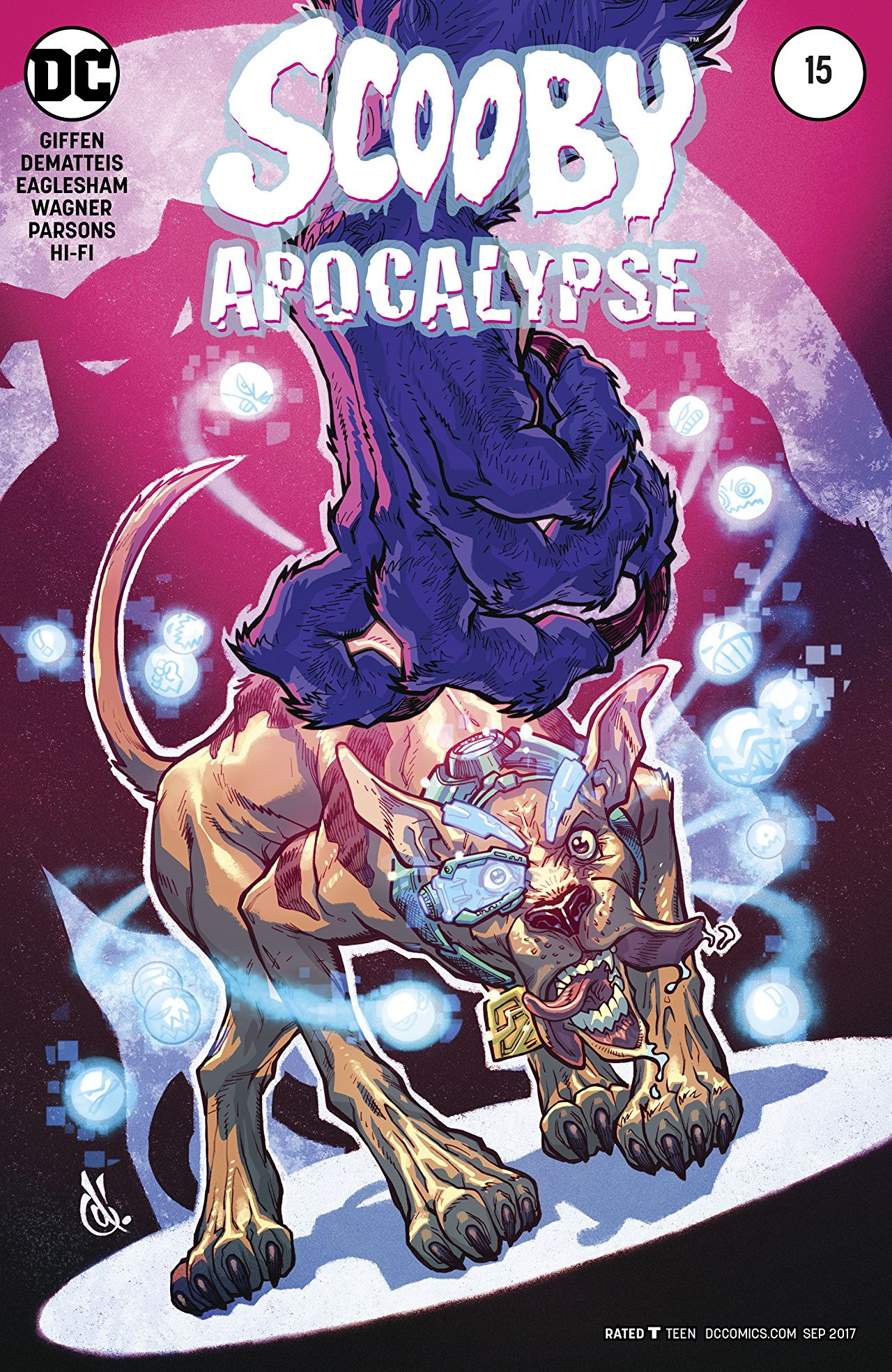 review SCOOBY APOCALYPSE #15