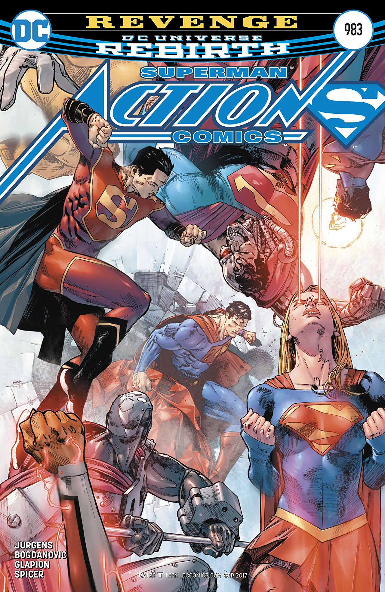 review ACTION COMICS #983