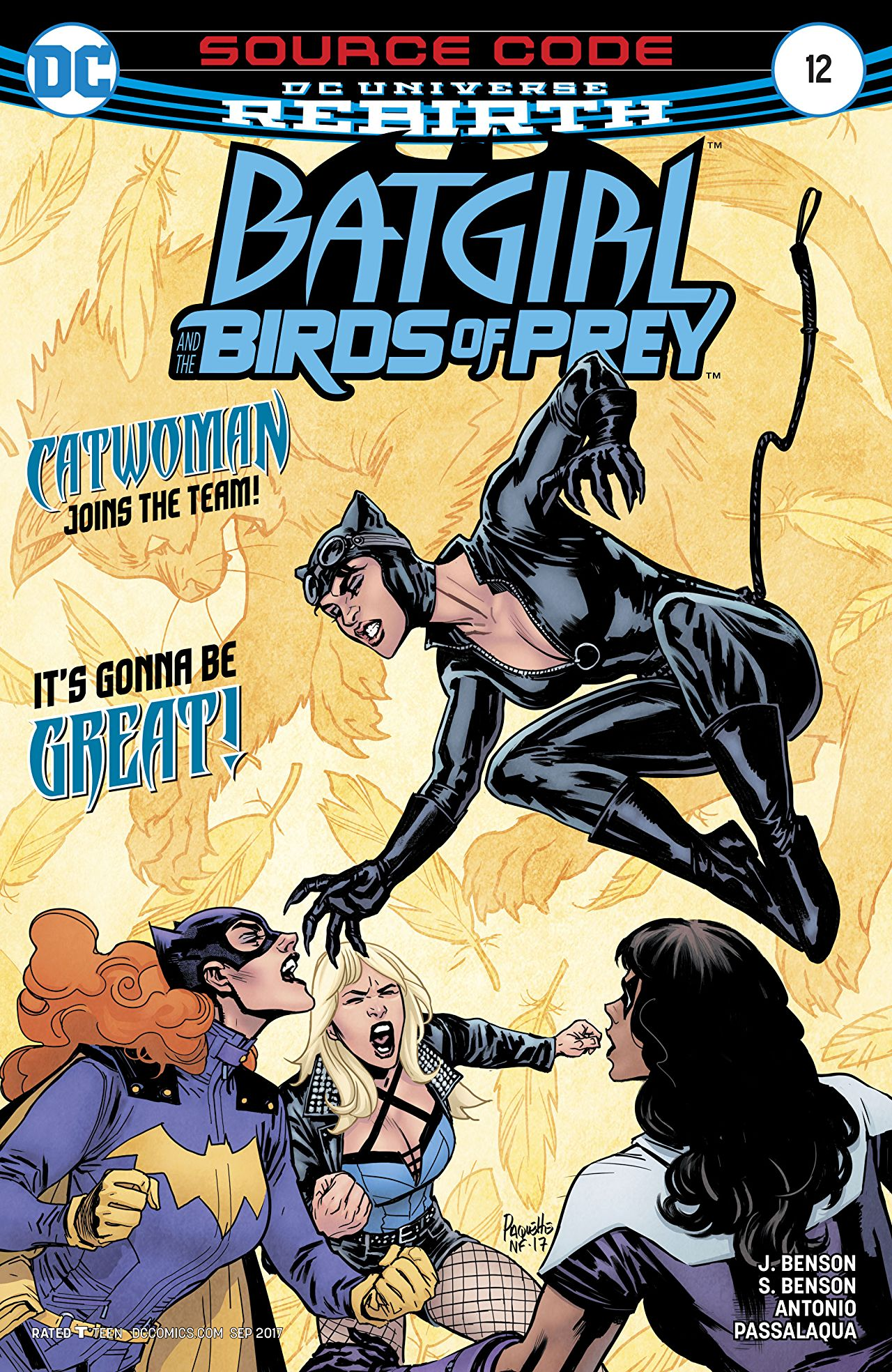 review BATGIRL AND THE BIRDS OF PREY #12