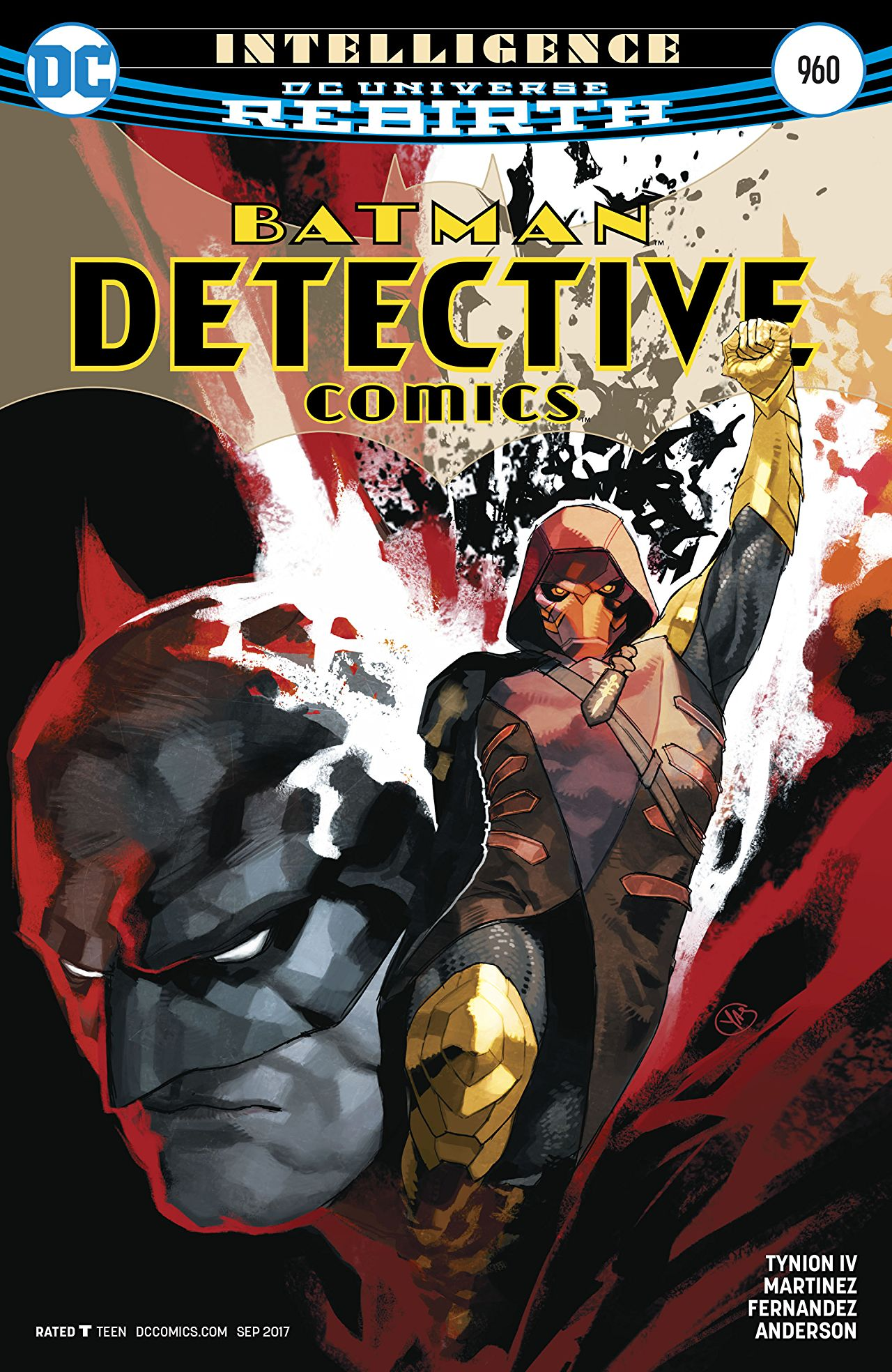review DETECTIVE COMICS #960