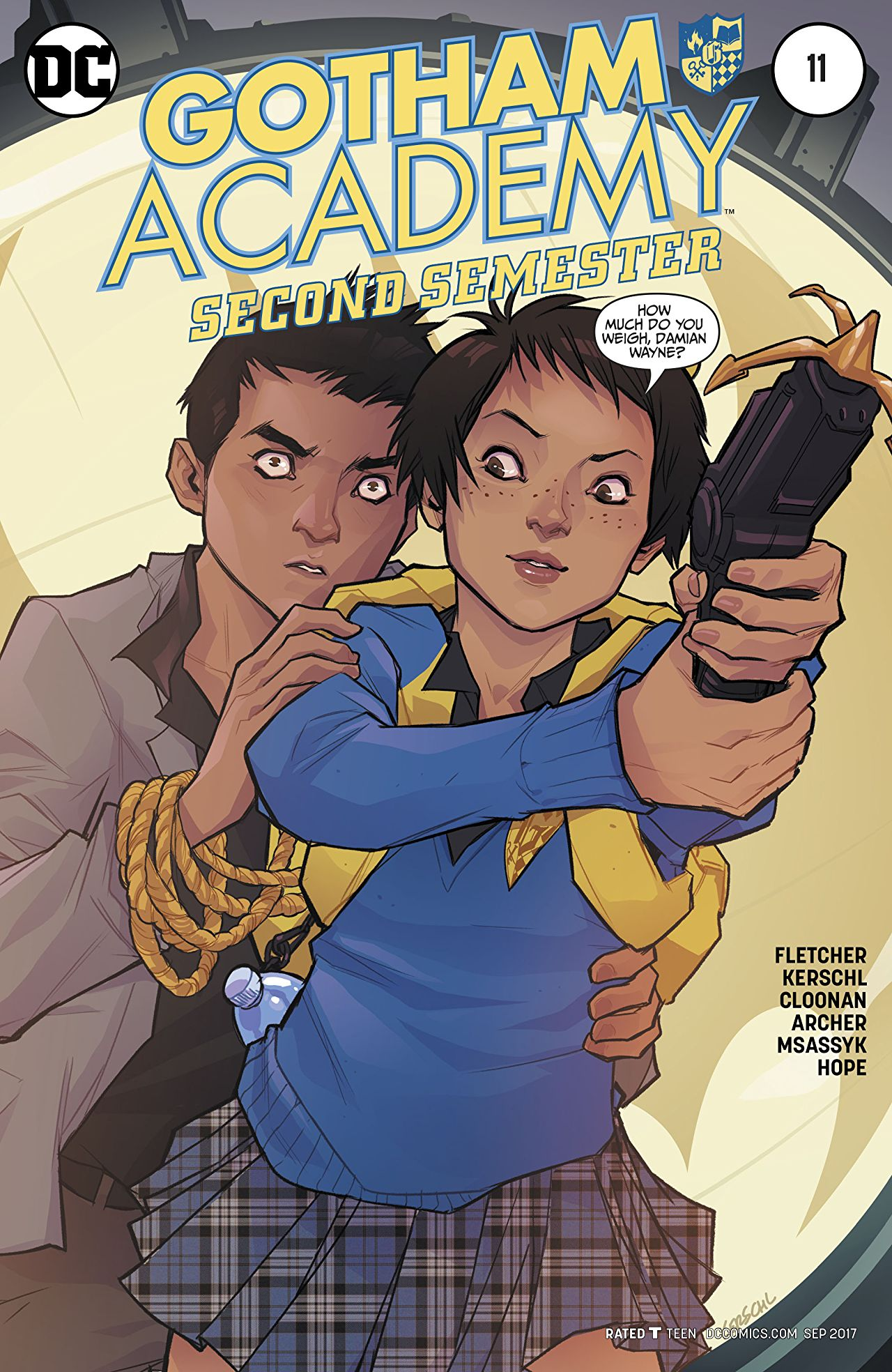 review GOTHAM ACADEMY : SECOND SEMESTER #11