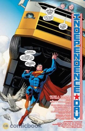 Preview VO - Superman #28 4