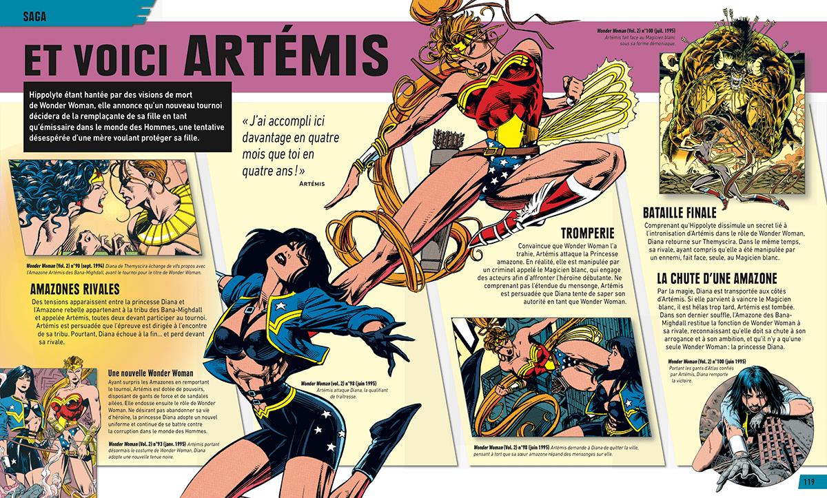 Review VF – Wonder Woman, l'encyclopédie illustrée 28