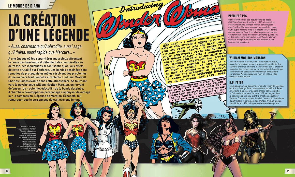Review VF – Wonder Woman, l'encyclopédie illustrée 27