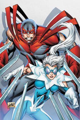 Un premier aperçu de Hawk & Dove pour la série Titans 2