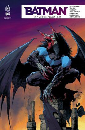 Preview VF - Batman - La Nuit des Monstres 1
