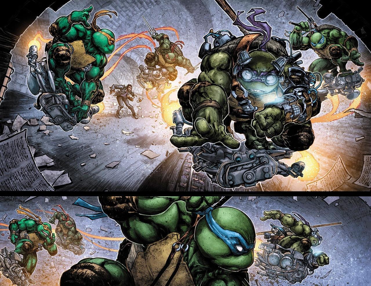 Review VO - Batman/Teenage Mutant Ninja Turtles II #1 1