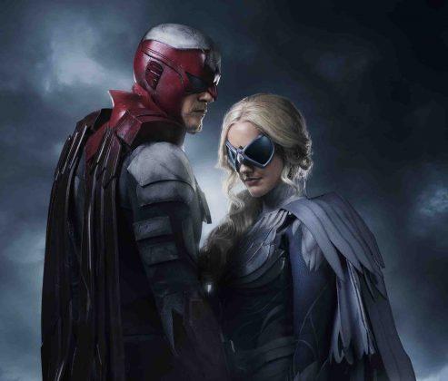 Un premier aperçu de Hawk & Dove pour la série Titans 1