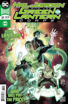 Preview VO - Hal Jordan and the Green Lantern Corps #34 1