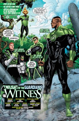 Preview VO - Hal Jordan and the Green Lantern Corps #34 3