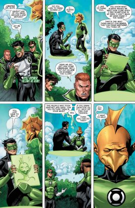 Preview VO - Hal Jordan and the Green Lantern Corps #34 4
