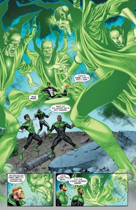 Preview VO - Hal Jordan and the Green Lantern Corps #34 5