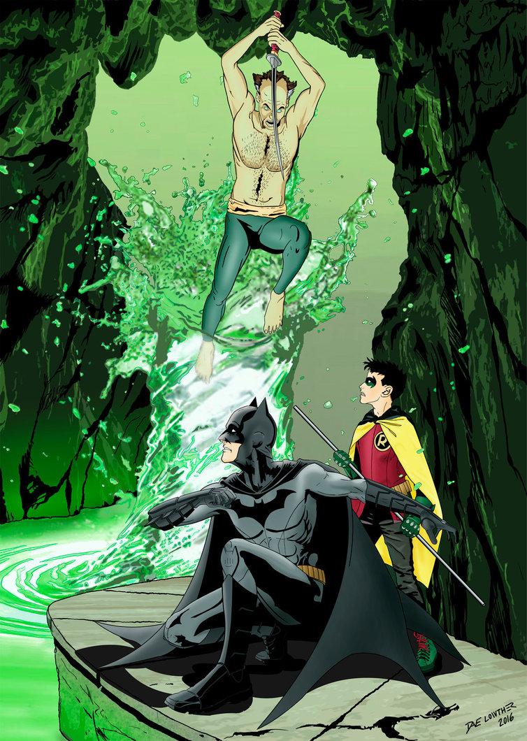 Ras Al Ghul vs Batman and Robin