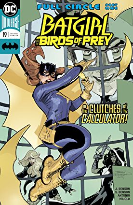 review BATGIRL AND THE BIRDS OF PREY #19