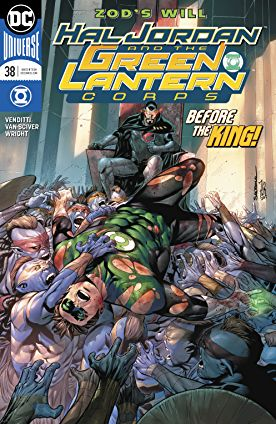 review HAL JORDAN AND THE GREEN LANTERN CORPS #38