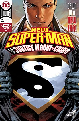 review NEW SUPER-MAN AND THE JUSTICE LEAGUE OF CHINA #20