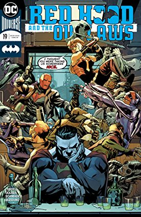 review RED HOOD AND THE OUTLAWS #19