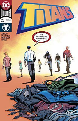 review TITANS #20