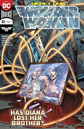 review WONDER WOMAN #40