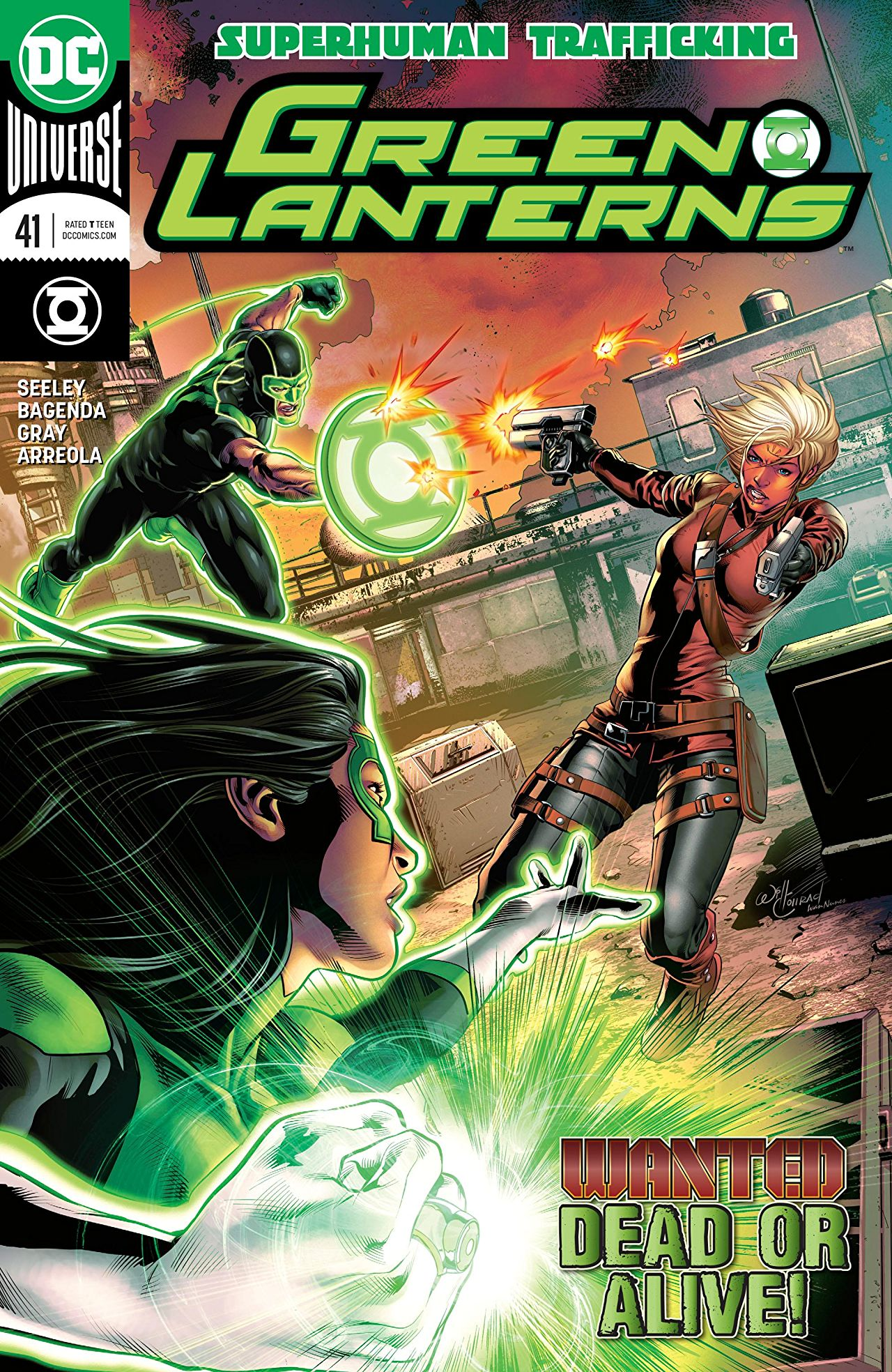 review GREEN LANTERNS #41