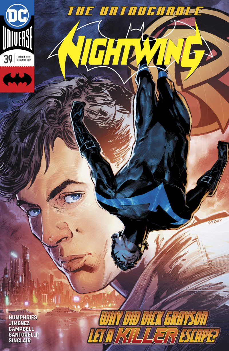 review NIGHTWING #39