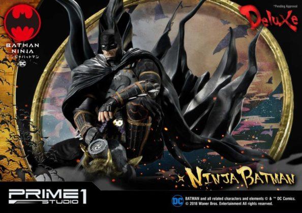 La statuette Batman Ninja de Prime 1 Studio dévoilée 18